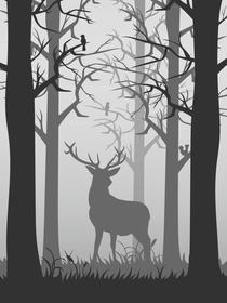 Skogshjorten