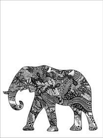 Elefant i mönster